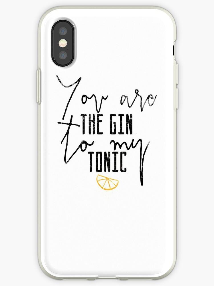 iphone xs case gin