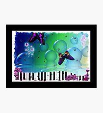 Spiritual Music Piano Keyboard Photographic Print