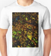 Gold Leaves with some Green and Brown T-Shirt