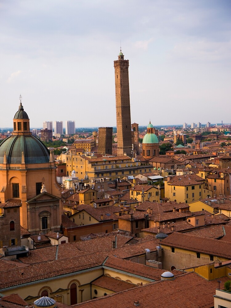 Early Evening Over Bologna by Rae Tucker