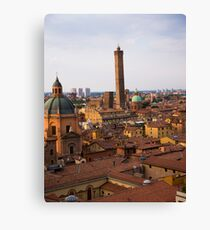 Early Evening Over Bologna Canvas Print