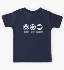 Peace Love Hamsters Kids Clothes
