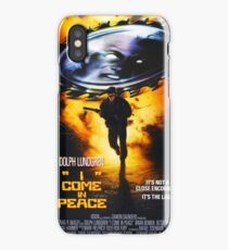 I Come In Peace (Dark Angel) iPhone Case/Skin