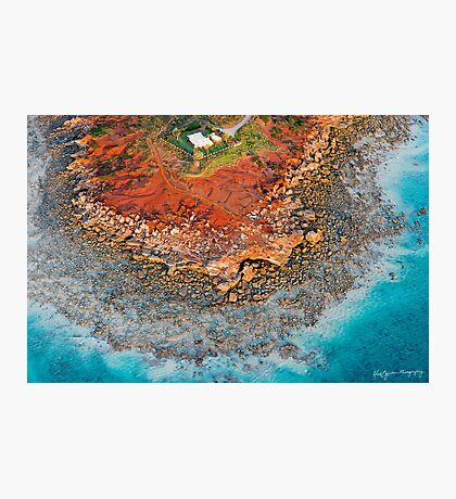 Gantheaume Point Aerial Photographic Print