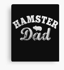 Hamster Dad Canvas Print