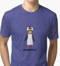 Penguin boy Tri-blend T-Shirt