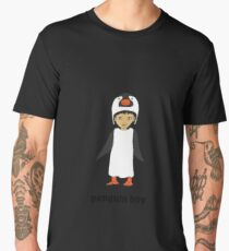 Penguin boy Men's Premium T-Shirt