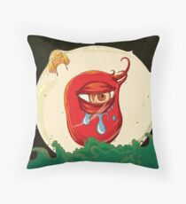 A Partial Truth: Bondage of Life, Death & Rebirth Throw Pillow