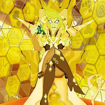 Diamante amarillo by Octocromia