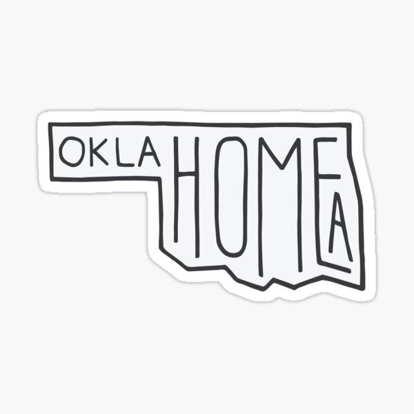 OKLAHOMEA (skinny) Sticker