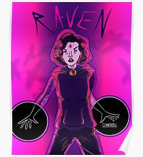 Raven Punk Version Poster