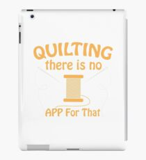 Quilting And Patchwork Design  iPad Case/Skin