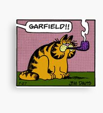 Lasagna Cat Canvas Print