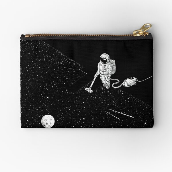 Space Cleaner Zipper Pouch