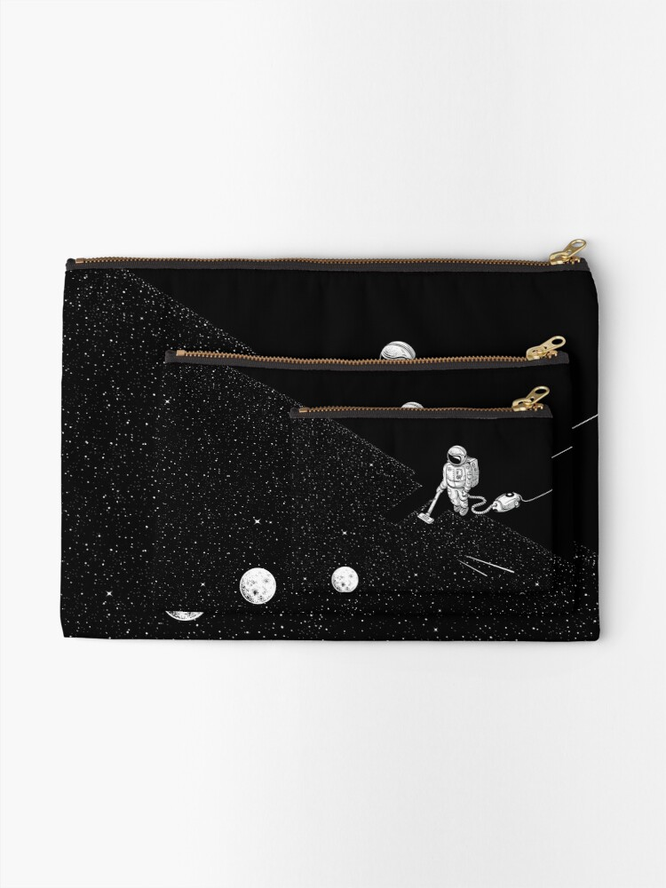 Alternate view of Space Cleaner Zipper Pouch