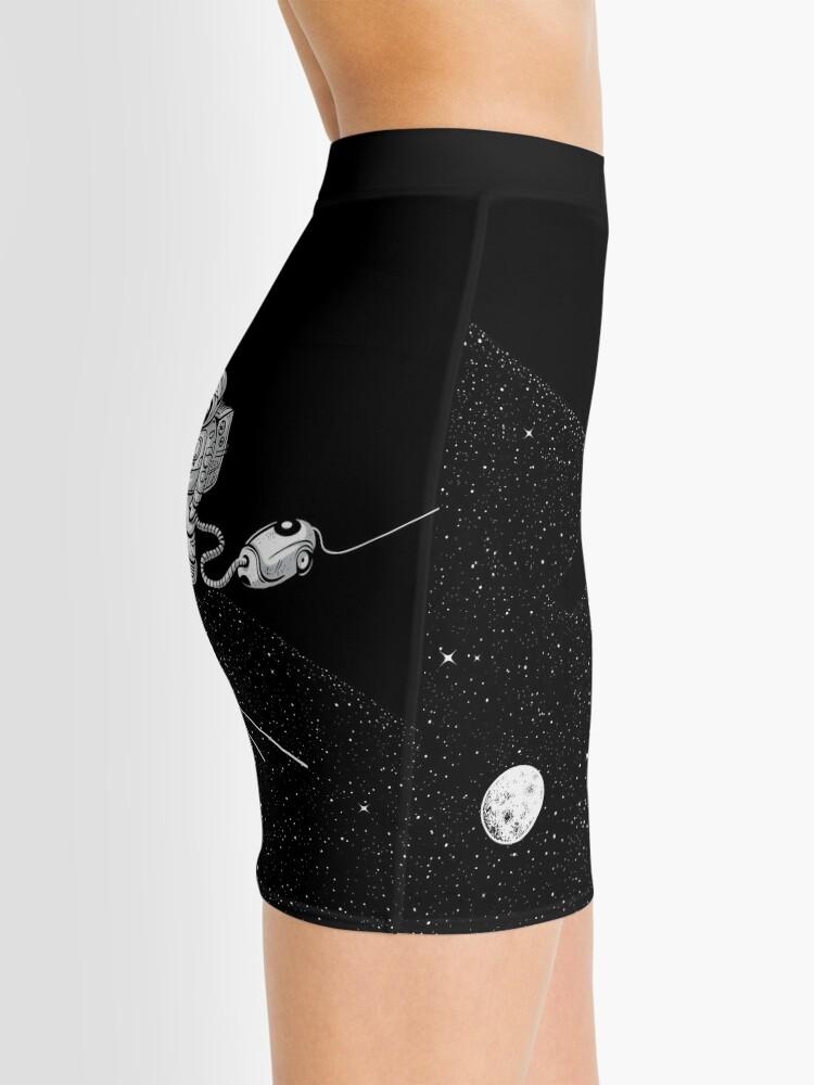 Alternate view of Space Cleaner Mini Skirt