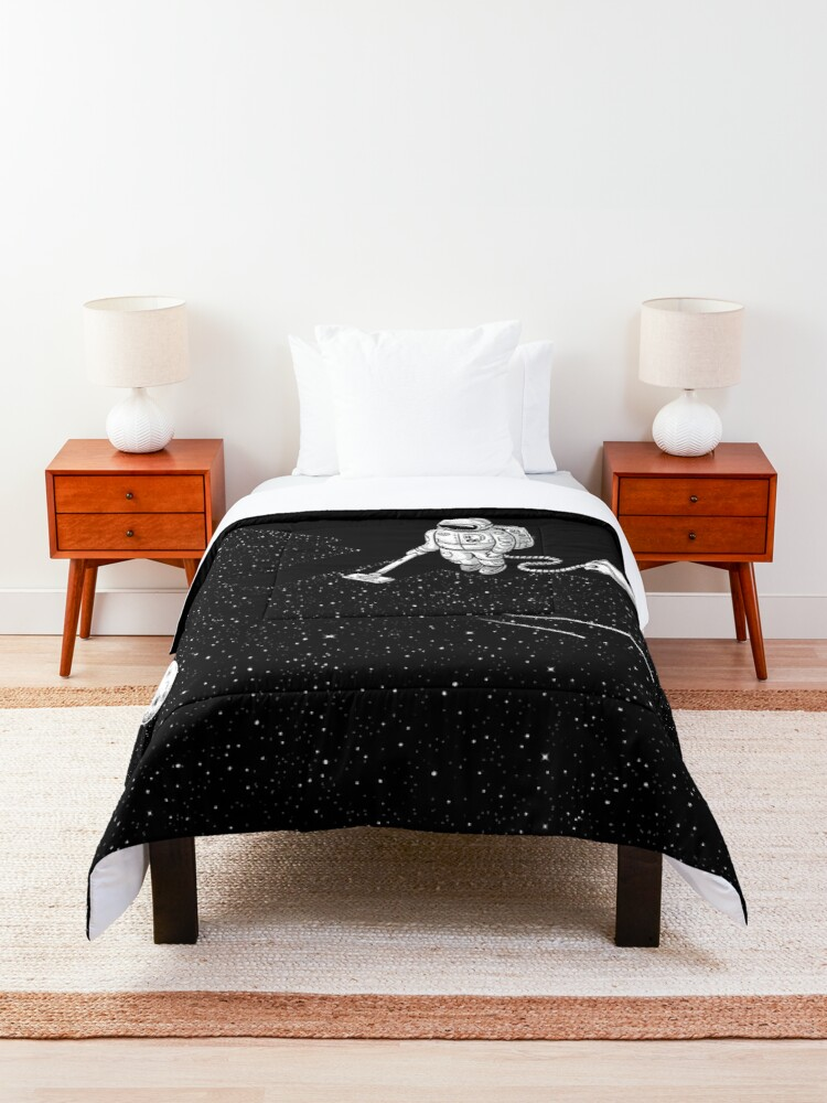 Alternate view of Space Cleaner Comforter