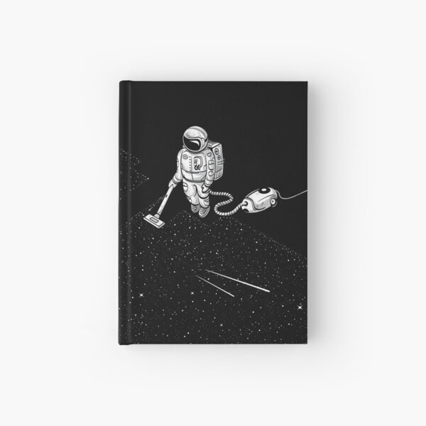 Space Cleaner Hardcover Journal
