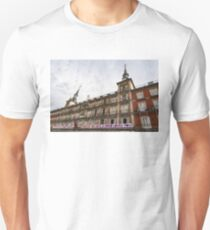 Love Message on Plaza Mayor in Madrid Spain T-Shirt