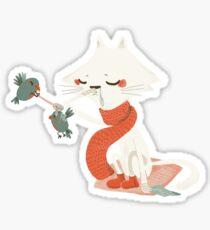 Chat enrhumé Sticker