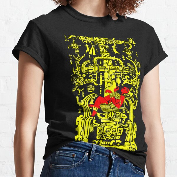 Ancient Astronaut - yellow & red version Classic T-Shirt