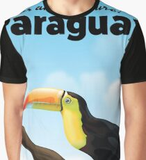 Paraguay Toucan travel poster Graphic T-Shirt