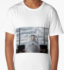F-15 Eagle Cockpit Long T-Shirt