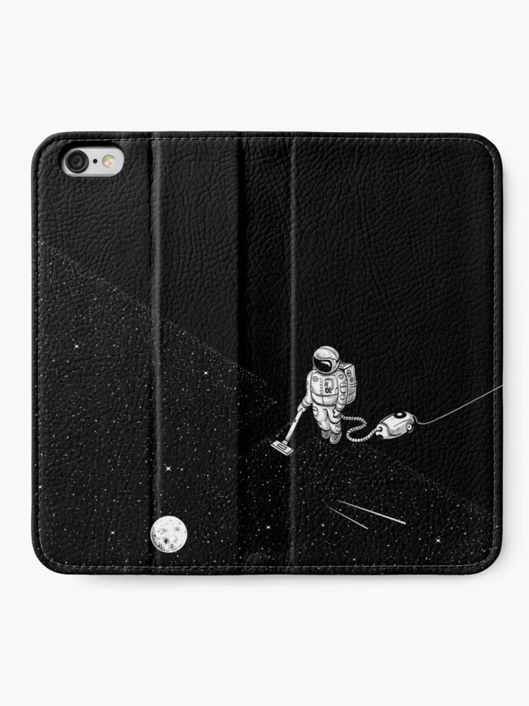Alternate view of Space Cleaner iPhone Wallet