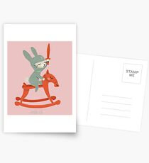 Lapin chevalier Cartes postales