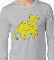 Happy Yellow Dragon Long Sleeve T-Shirt