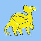 Happy Yellow Dragon by zoel