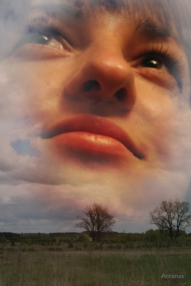 From clouds by Antanas