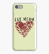 Cor Meum (Heart)  iPhone Case/Skin