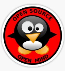 Open Source Open Mind Sticker