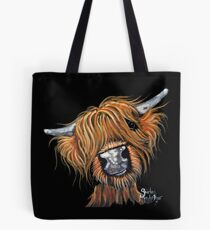 Scottish Highland Cow ' JIMMY ' by Shirley MacArthur Tote Bag