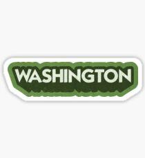 Washington State Sticker | Retro Pop Sticker