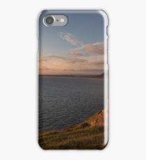 Rhossili Bay cliffs, South Wales iPhone Case/Skin