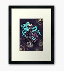 Steampunk meets Classic Actors - Vincent Price Framed Print
