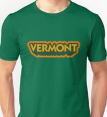 Vermont State Sticker | Retro Pop T-Shirt