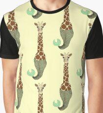 Mer Giraffe Graphic T-Shirt