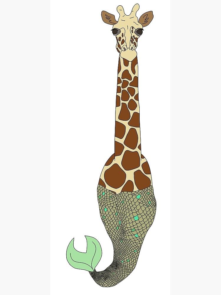 Mermaid Giraffe by notsniwart