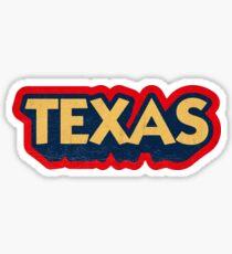 Texas State Sticker | Retro Pop Sticker