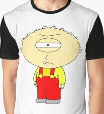 Cyclops Stewie Griffin- frowning Graphic T-Shirt