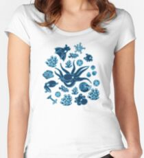 Cephalopods_Bioluminescence Women's Fitted Scoop T-Shirt