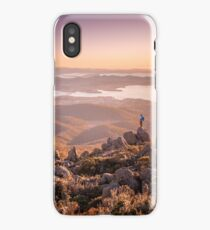 Hobart from Mt Wellington iPhone Case/Skin