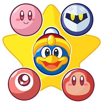 Kirby & Friends by jaimeugarte