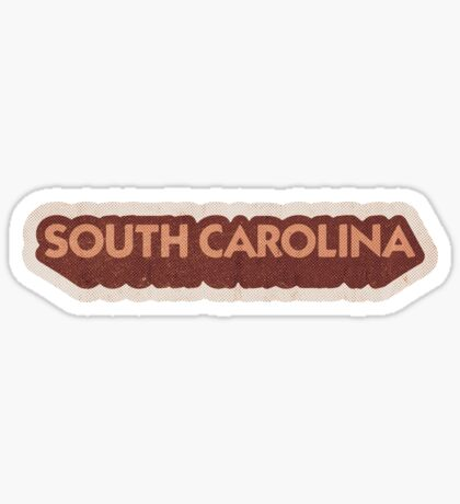 South Carolina State Sticker | Retro Pop Sticker