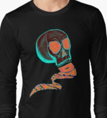 Deathwish Skull Long Sleeve T-Shirt