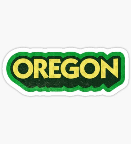 Oregon State Sticker | Retro Pop Sticker
