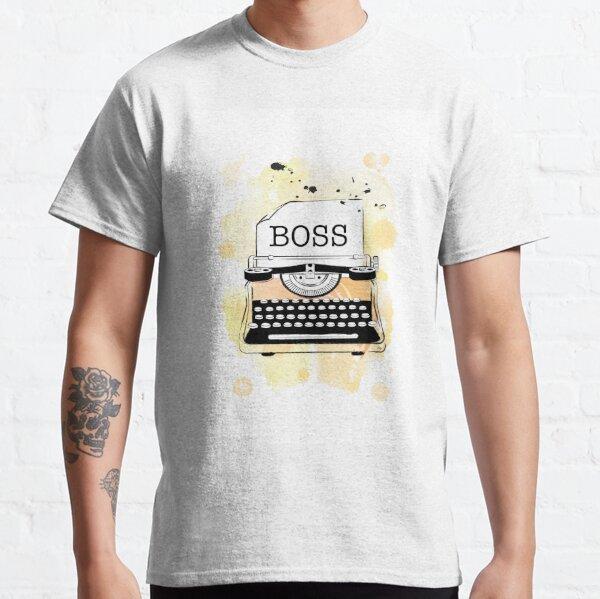Boss Girl Typewriter Classic T-Shirt